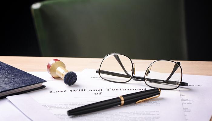 Desk with Paperwork